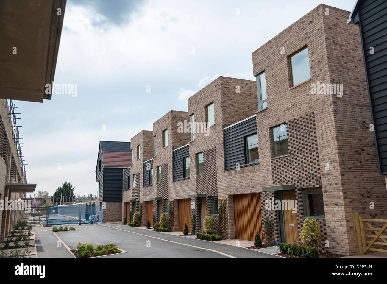 New Housing Development : New housing development at great kneighton trumpington