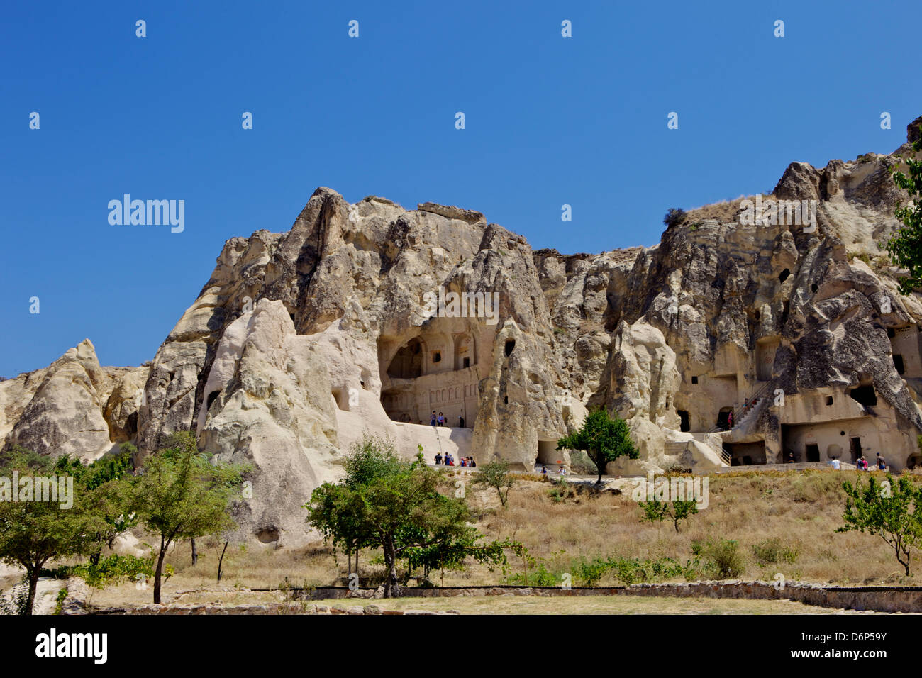 Goreme open air museum, Cappadocia, Anatolia, Turkey, Asia Minor, Eurasia - Stock Image