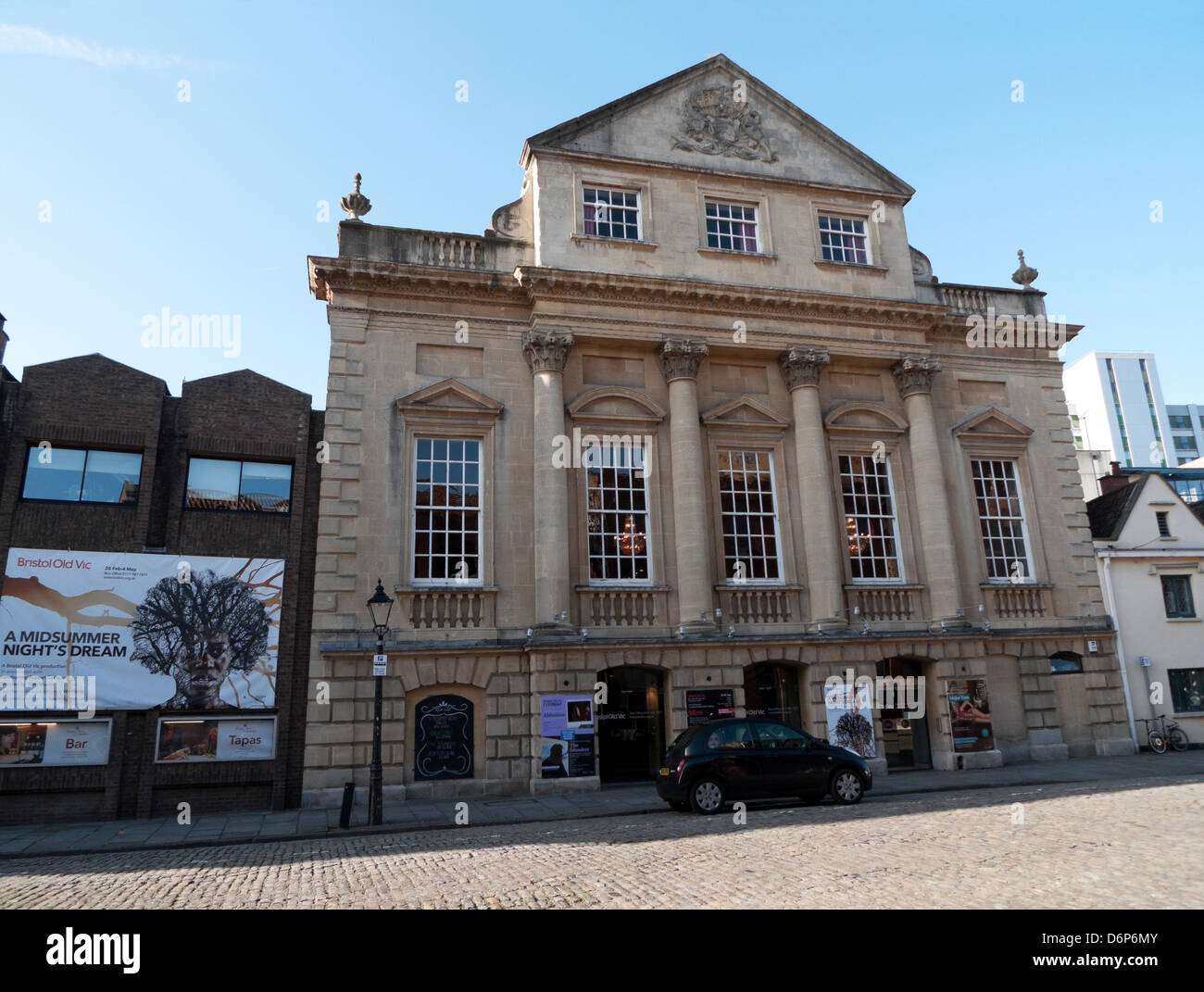 The Theatre Royal Bristol Old Vic building on King Street in Bristol England UK KATHY DEWITT - Stock Image