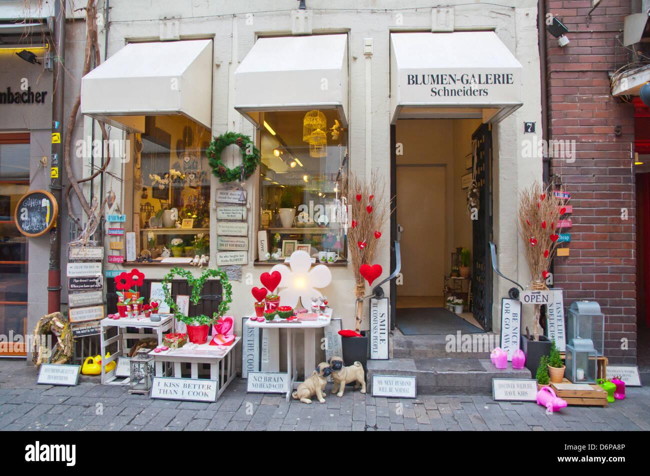 Design Düsseldorf blumen galerie schneiders flower and interior design shop altstadt