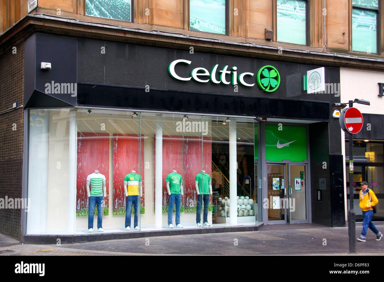 Celtic Glasgow Shop