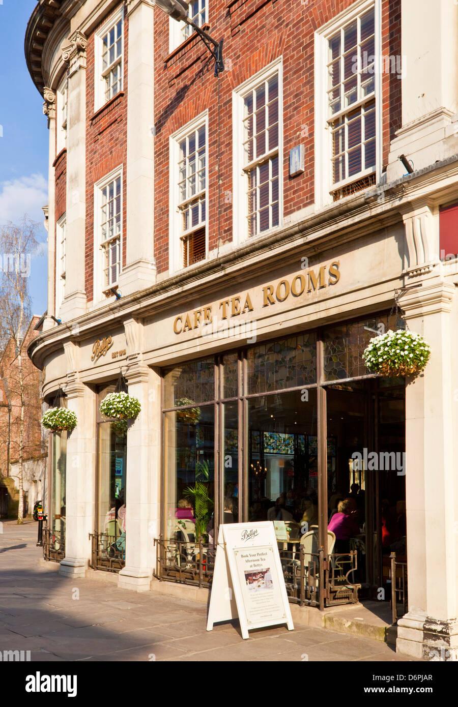 Betty's tea room St Helens Square City centre York North Yorkshire England UK GB EU Europe - Stock Image
