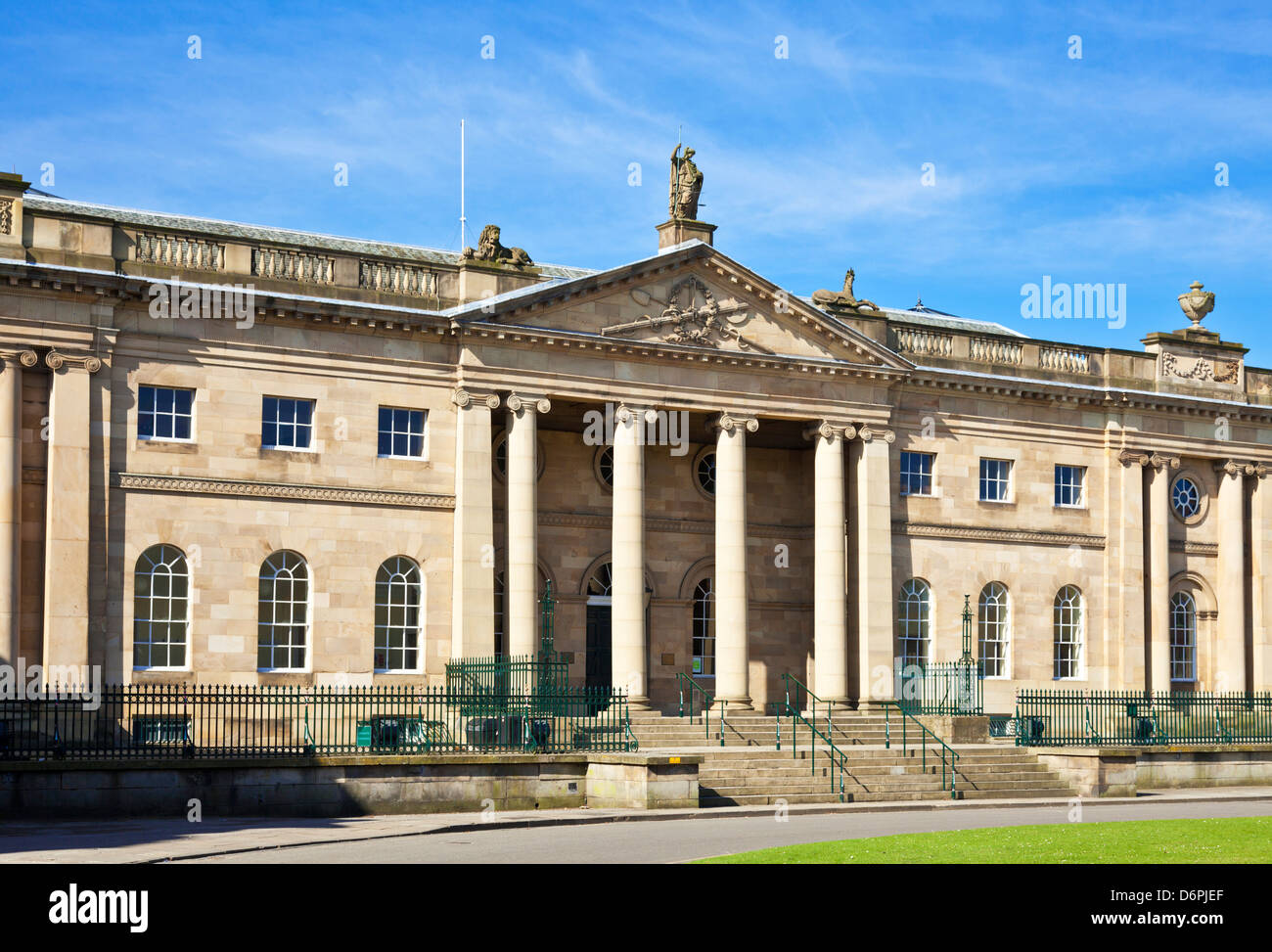 The Crown court York North Yorkshire England UK GB EU Europe - Stock Image