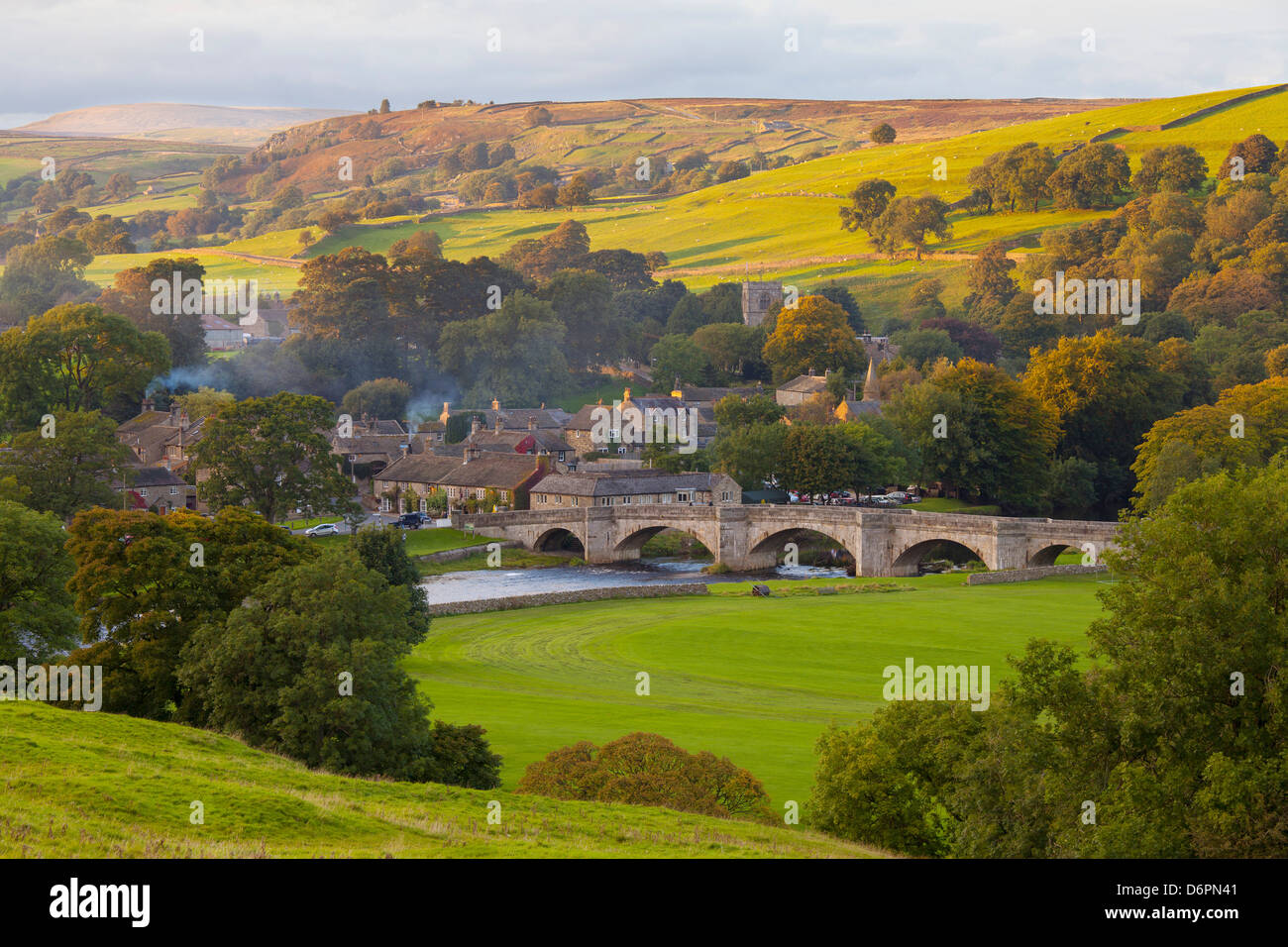 Burnsall, Yorkshire Dales National Park, Yorkshire, England, United Kingdom, Europe - Stock Image