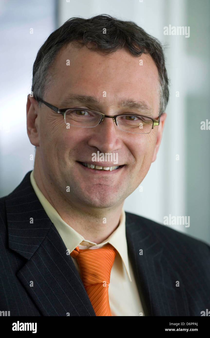 Professor Mauro Ferrari, a nanohealth expert from the United States. - Stock Image