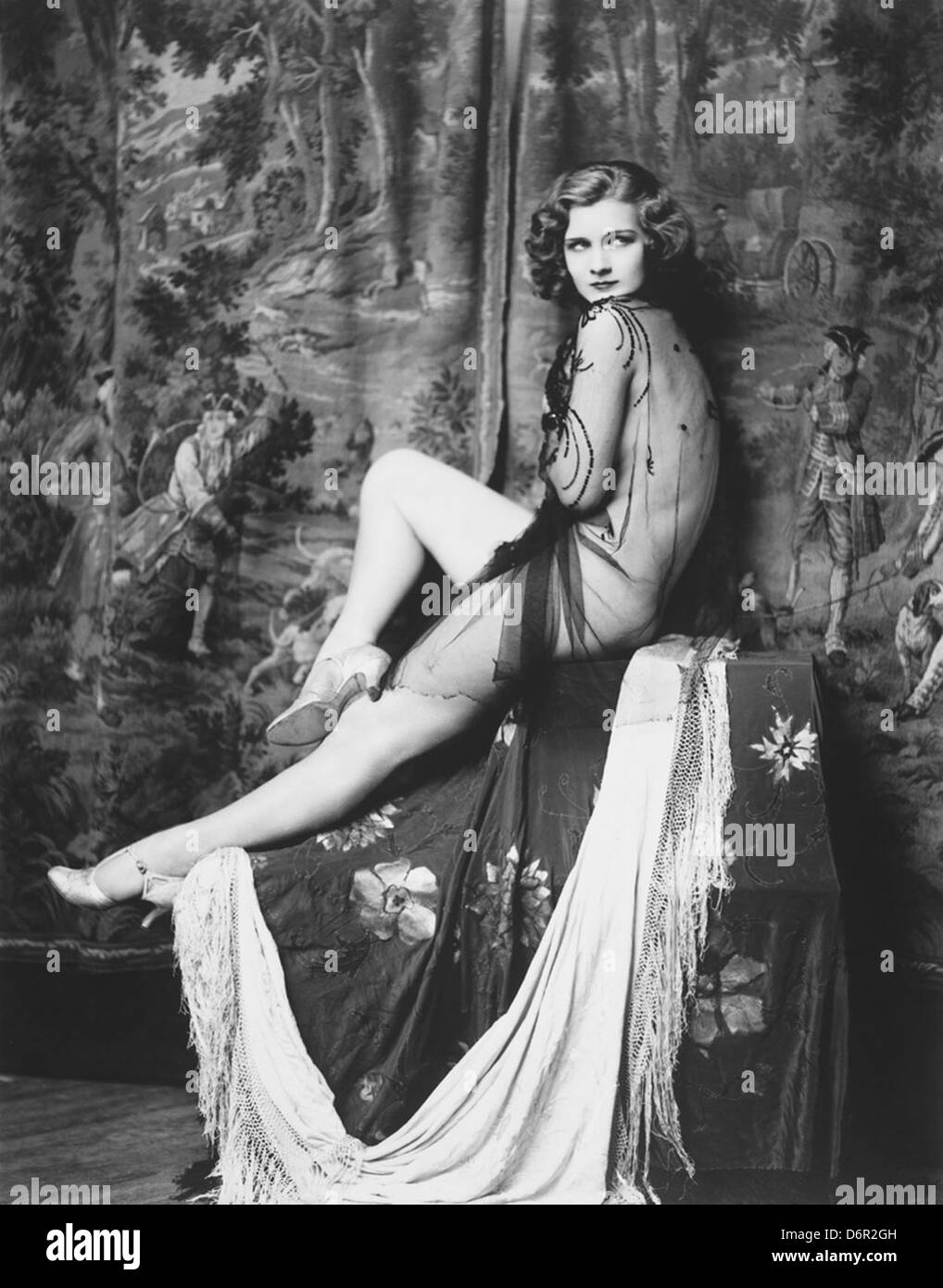 Ziegfeld girl Drucilla Strain by Alfred Cheney Johnston, ca. 1928 - Stock Image