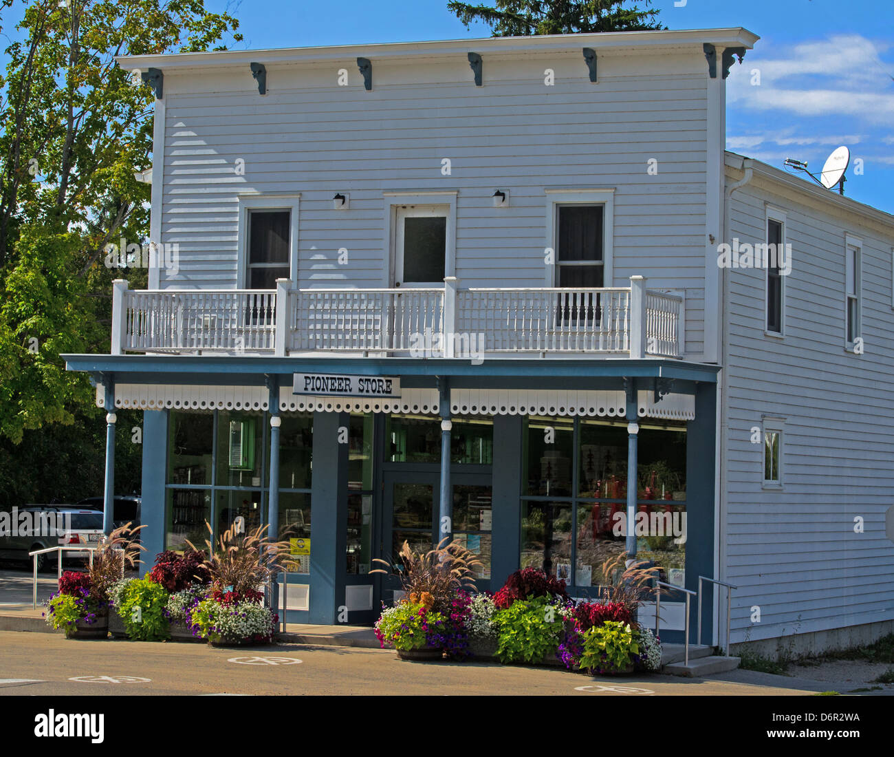 The PIoneer Store In The Door County Town Of Ellison Bay, Wisconsin Is An  Old Fashioned General Store.