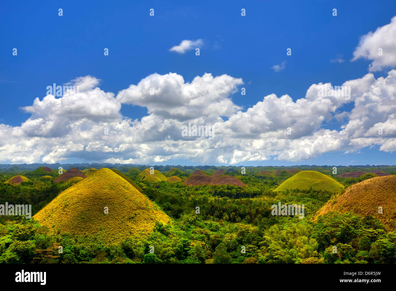 Chocolate Hills - Stock Image