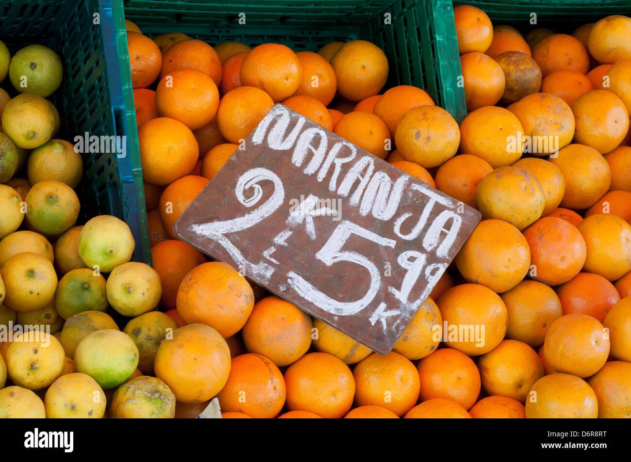Orange fruit - Stock Image
