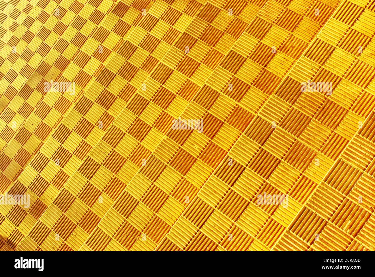 Yellow geometry texture. Element of design. - Stock Image