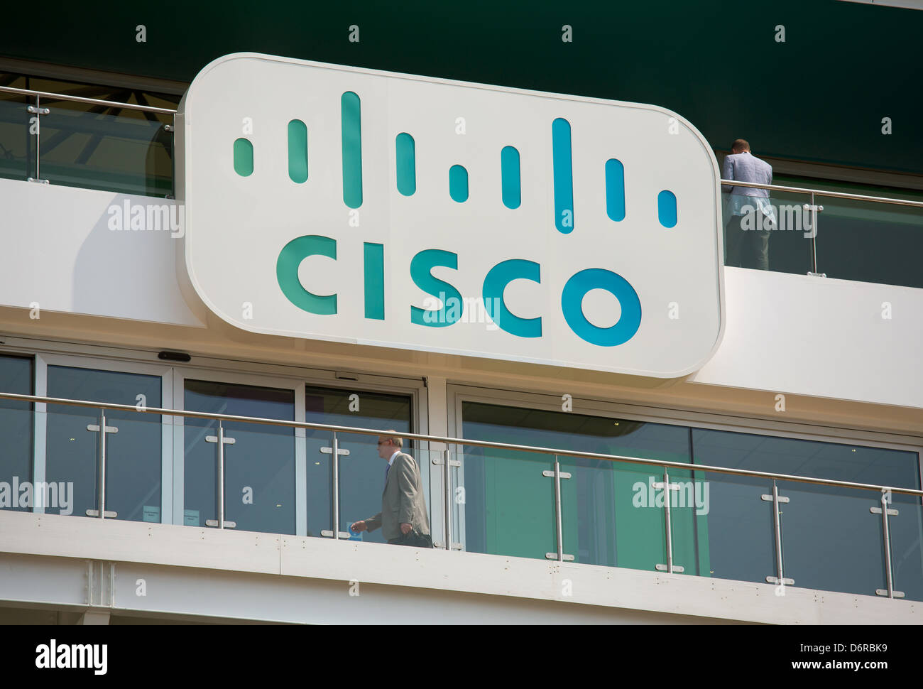 London, UK, CA-House branch of the U.S. and global Neztwerkanbieters Cisco Systems - Stock Image