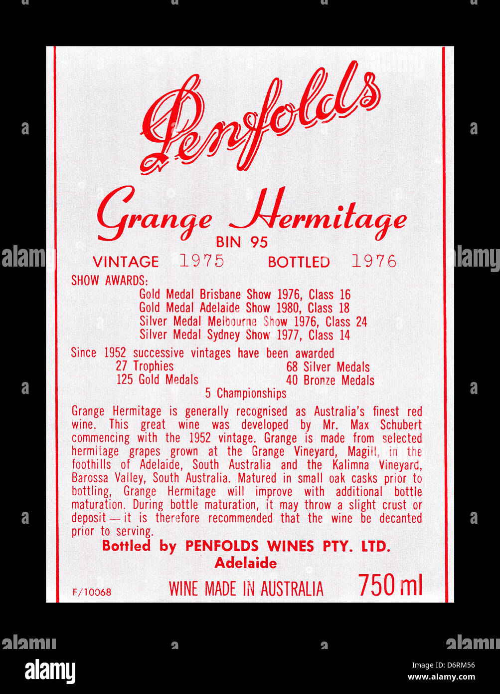 What Is Penfolds Grange Worth