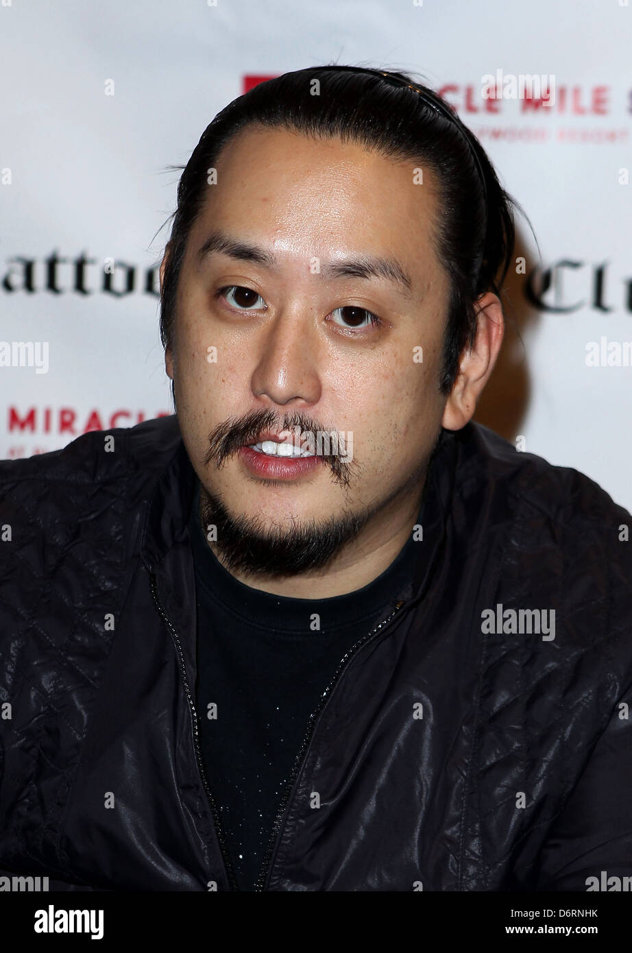 Joe Hahn Club Tattoo Inside Miracle Mile Shops hosts an autograph signing with Linkin Park at Planet Hollywood Resort and