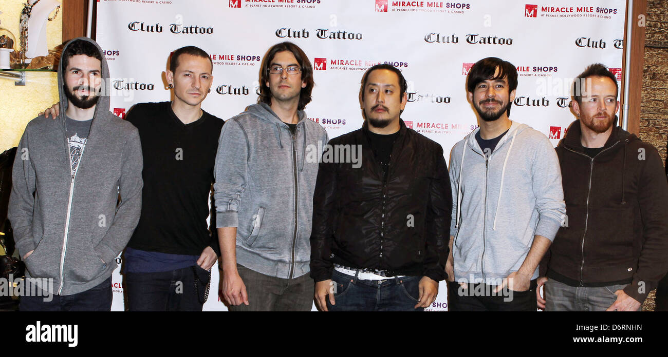 Linkin Park Club Tattoo Inside Miracle Mile Shops hosts an