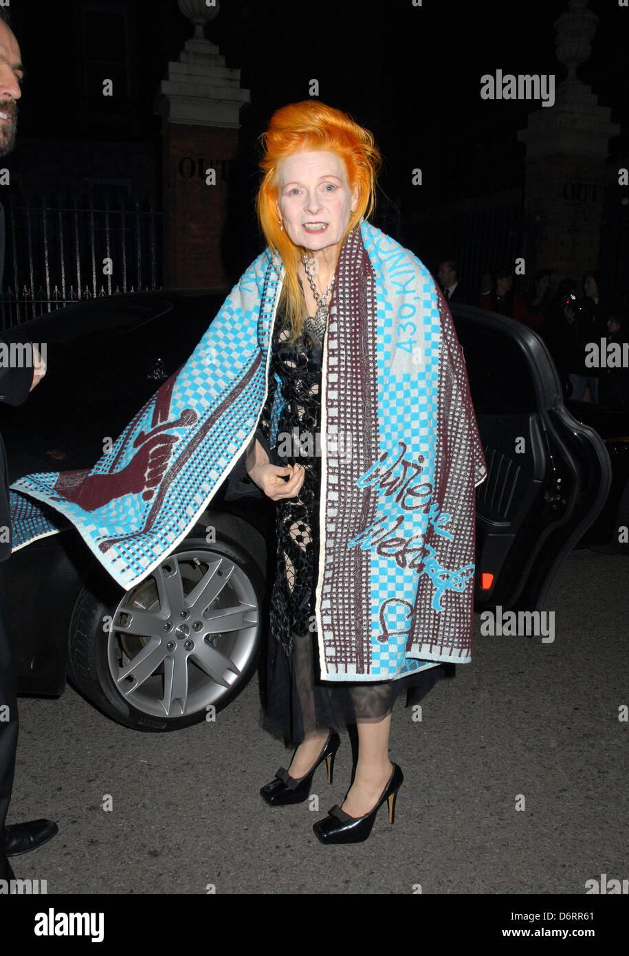f80a3a5cc02 Dame Vivienne Westwood London Fashion Week A/W 2011: Get A Life Palladium -  Departures London, England - 18.02.11