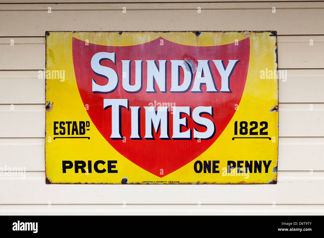 The Sunday Times Newspaper Stock Photos & The Sunday Times