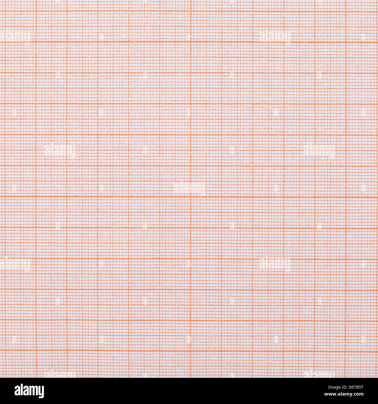 background from graph paper close up - Stock Image