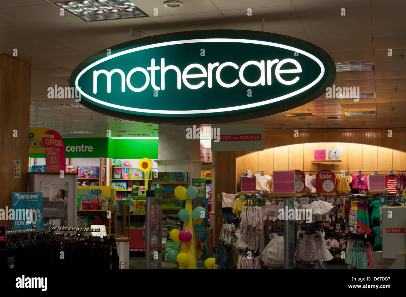 Mothercare store - Stock Image