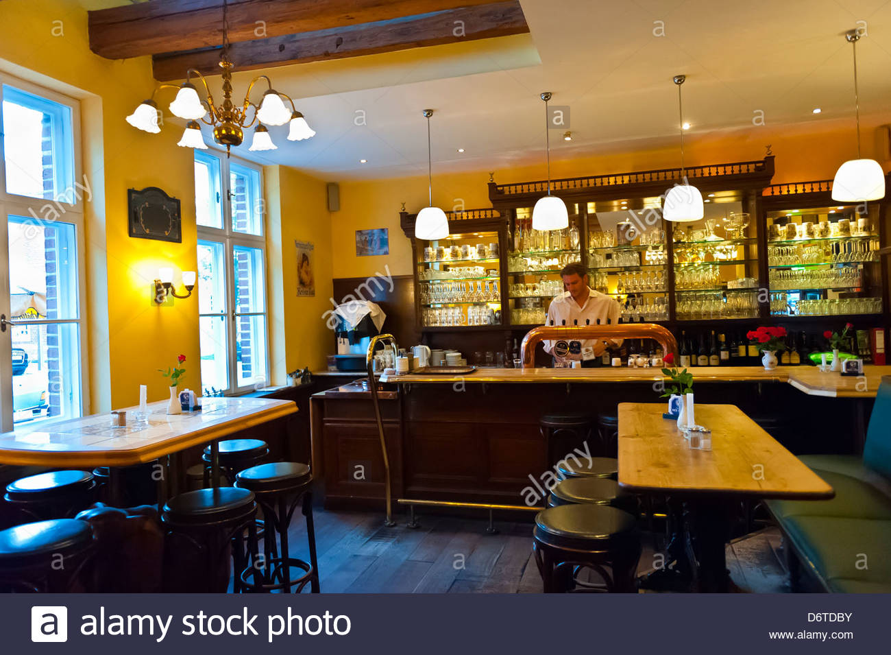 Interior View, Zum Fliegenden Hollander (Flying Dutchman) Bar And  Restaurant, Dutch Quarter Of Potsdam, Germany