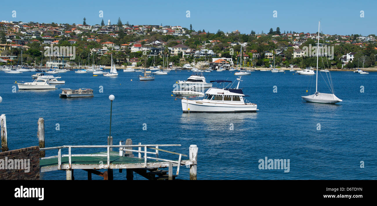 Watsons Bay Sydney Harbour Australia - Stock Image