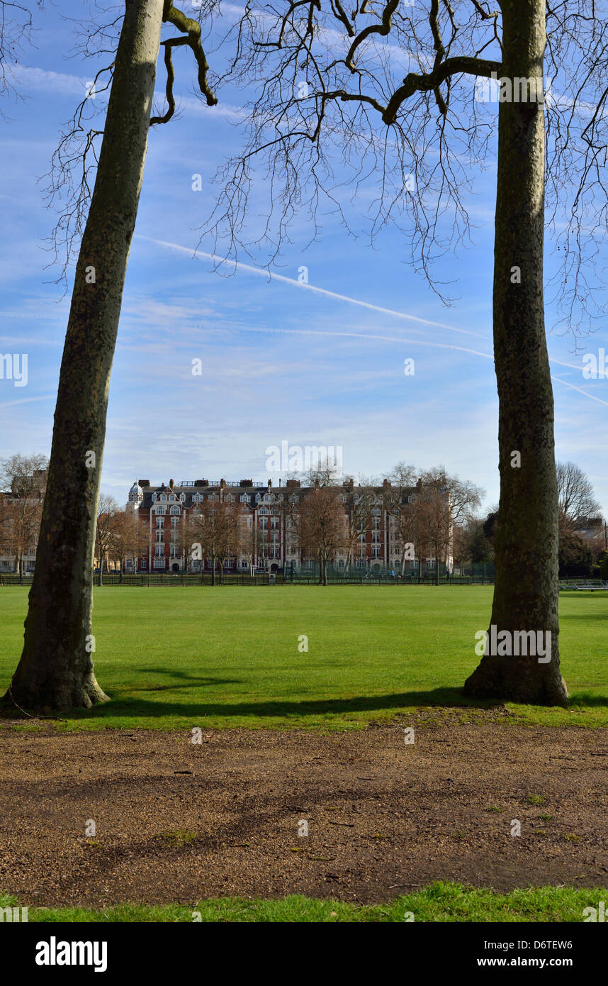 Burton's Court Park, Royal Hospital Road, Chelsea, London, United Kingdom - Stock Image