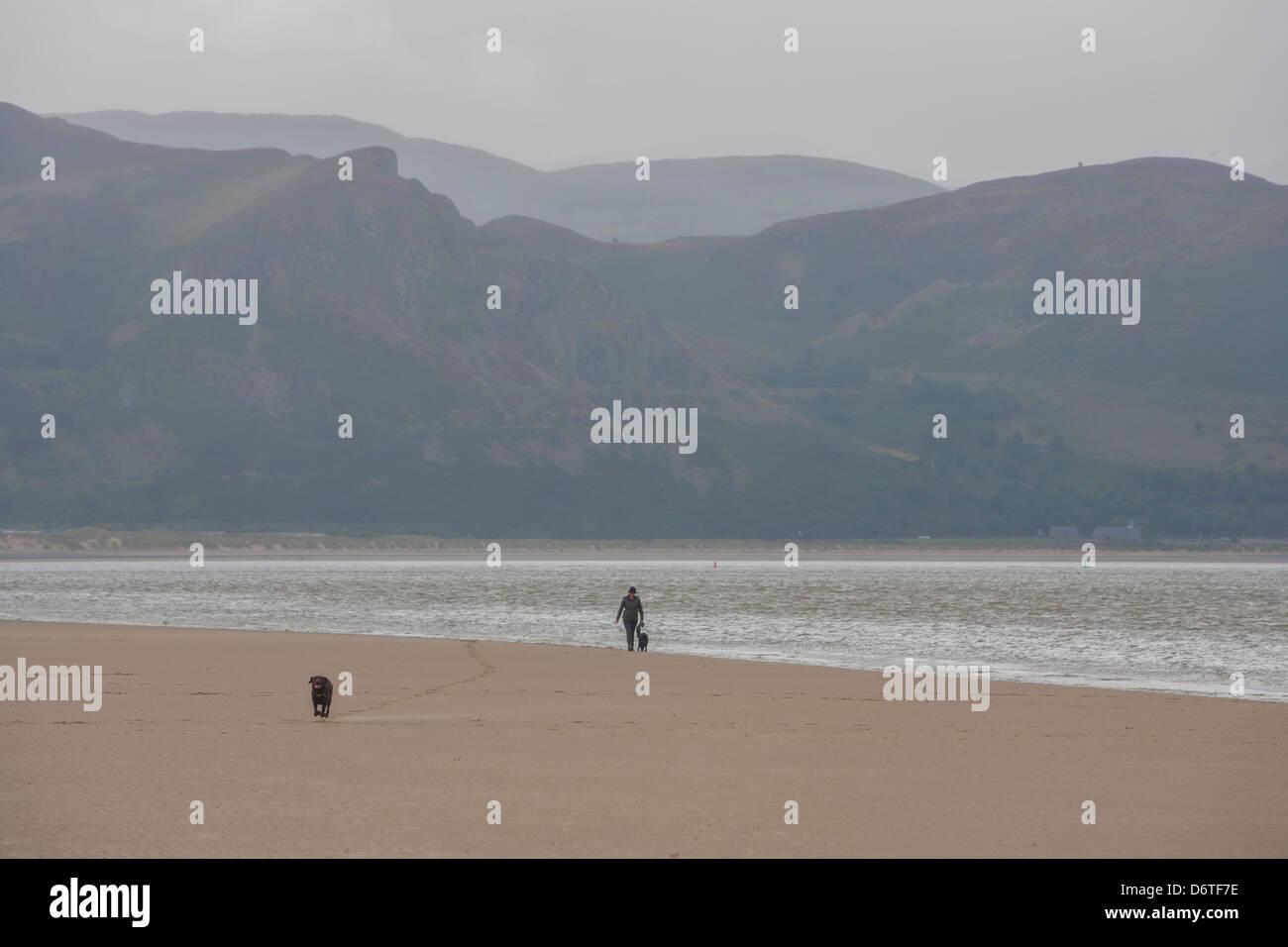 seaside coast pier jetty promenade - Stock Image