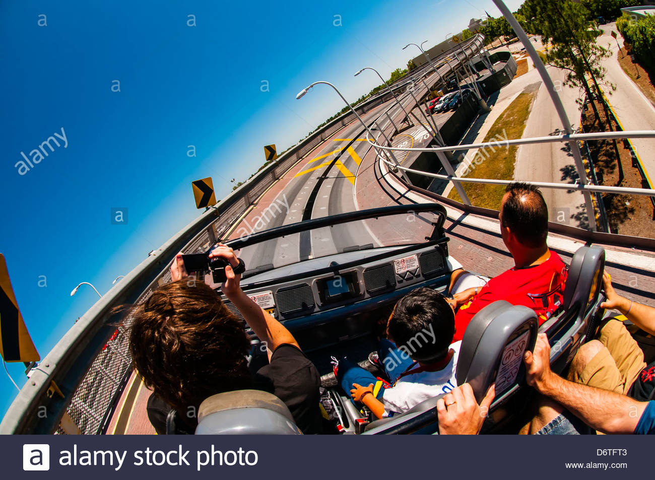 Test Track Ride Epcot Walt Disney World Orlando Florida Usa