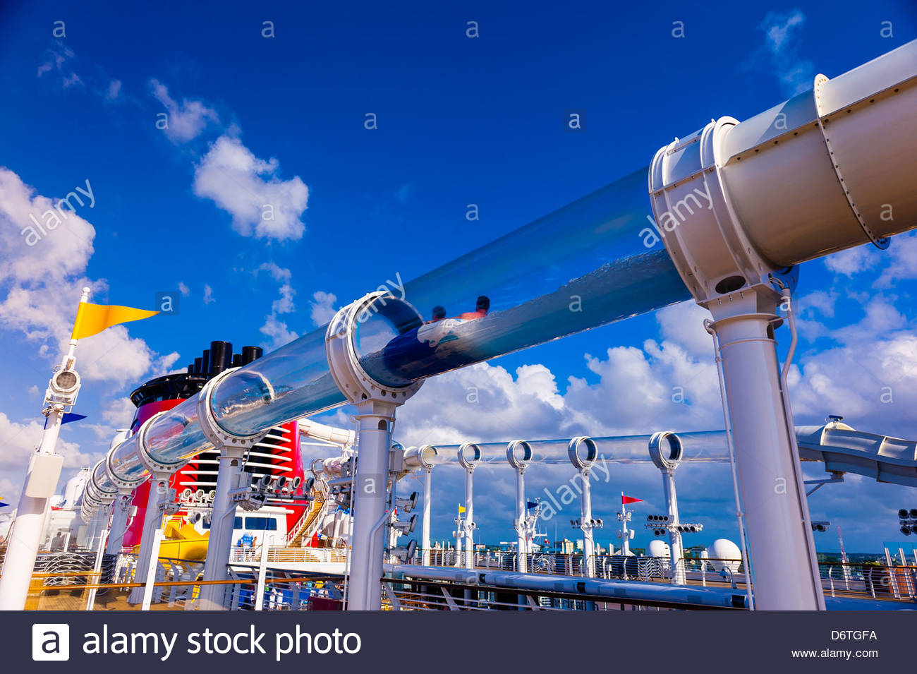 Aquaduck Water Slide Aboard The Cruise Ship Quot Disney Dream