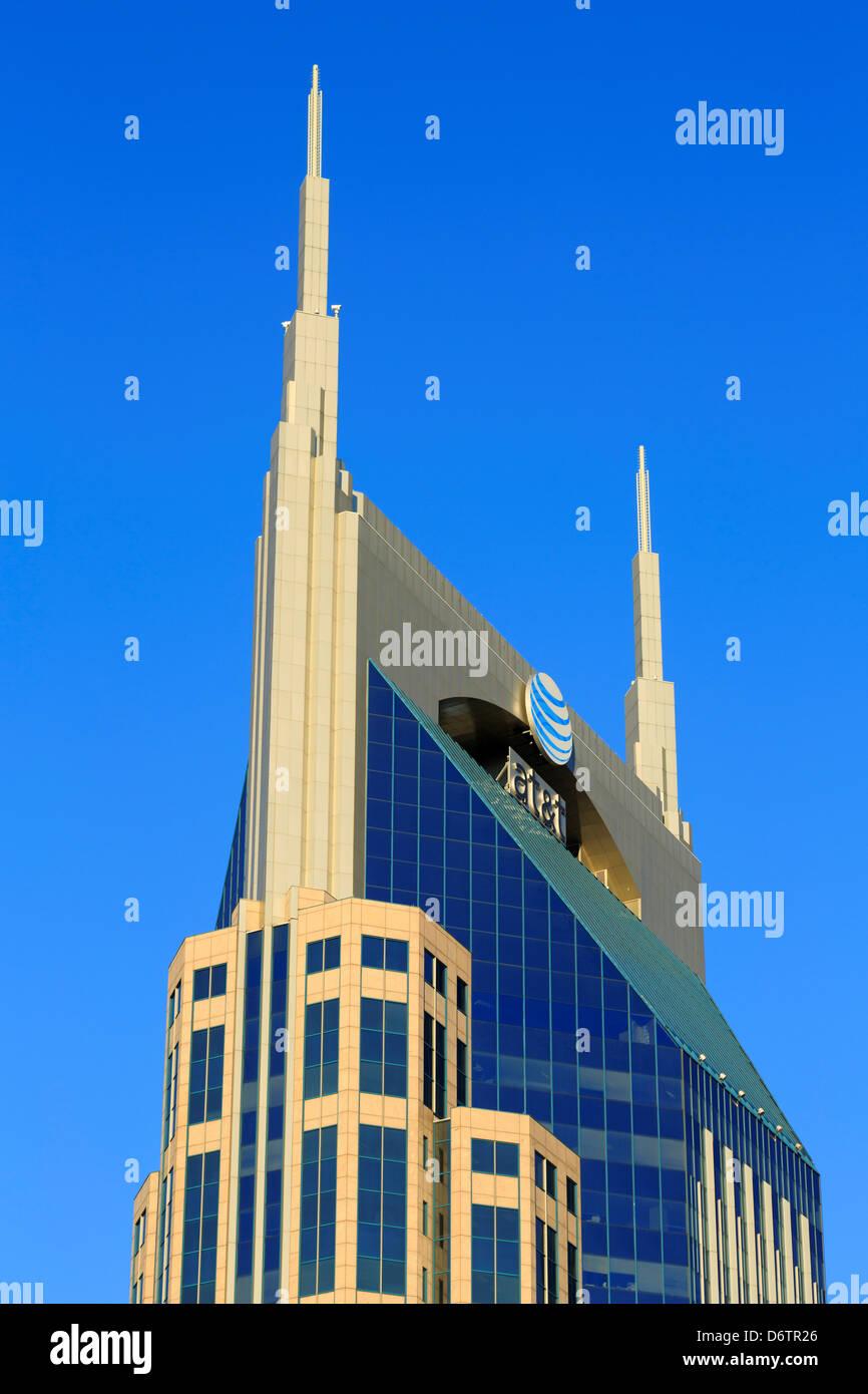 333 Commerce Tower,skyscraper,Nashville,Tennessee,USA - Stock Image