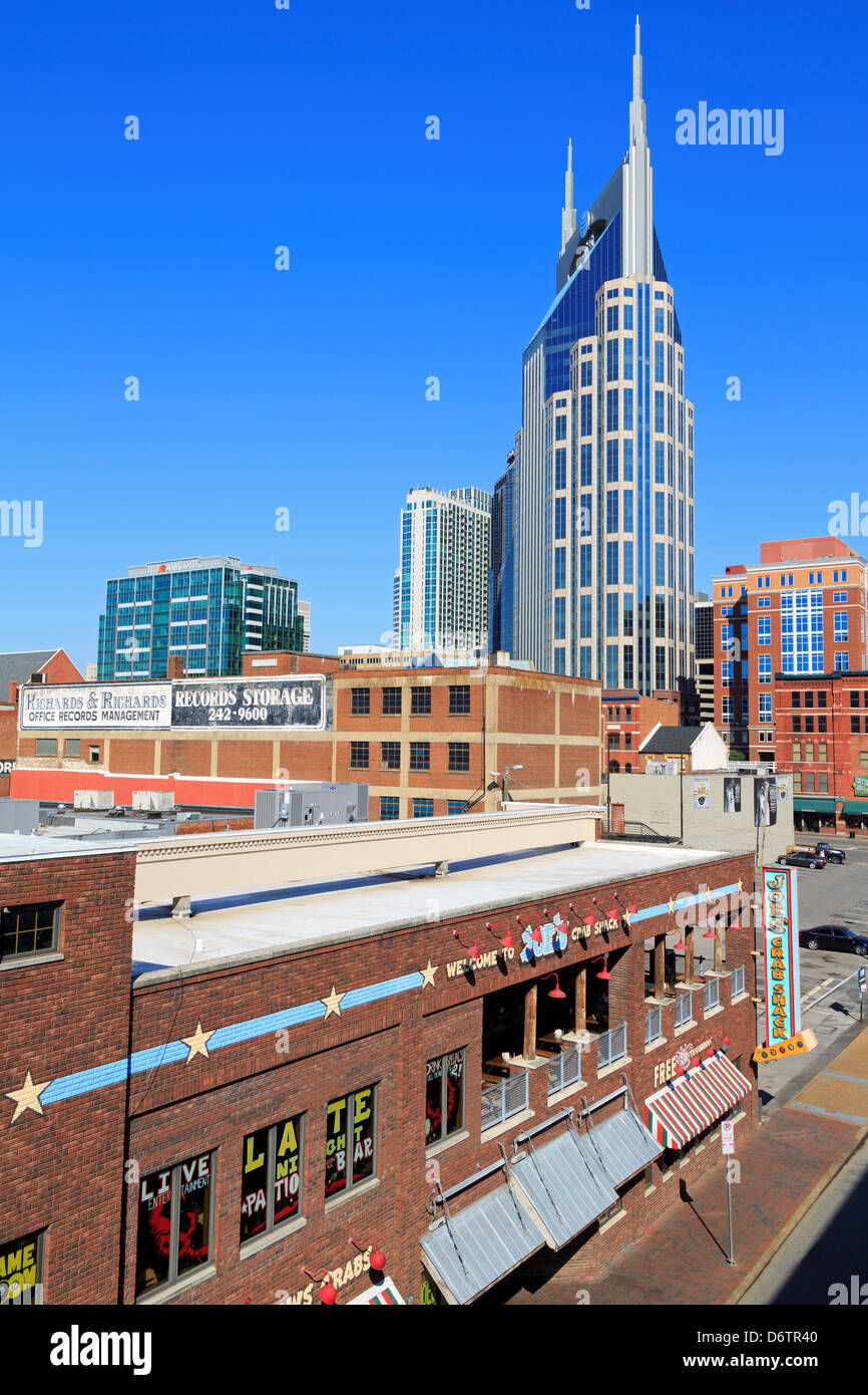 333 Commerce Tower,Nashville,Tennessee,USA - Stock Image