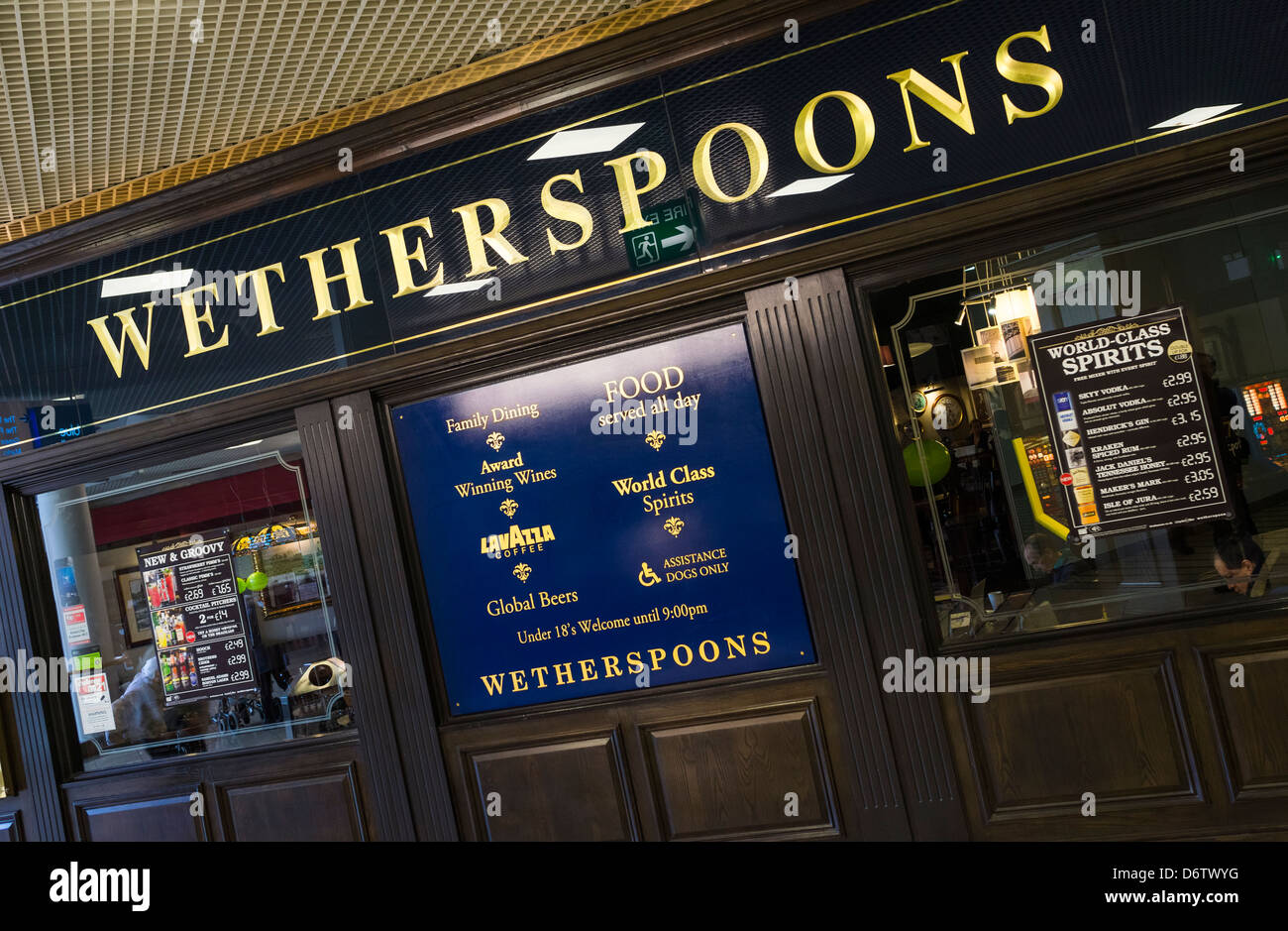 Wetherspoons pub at the Metrocentre. - Stock Image