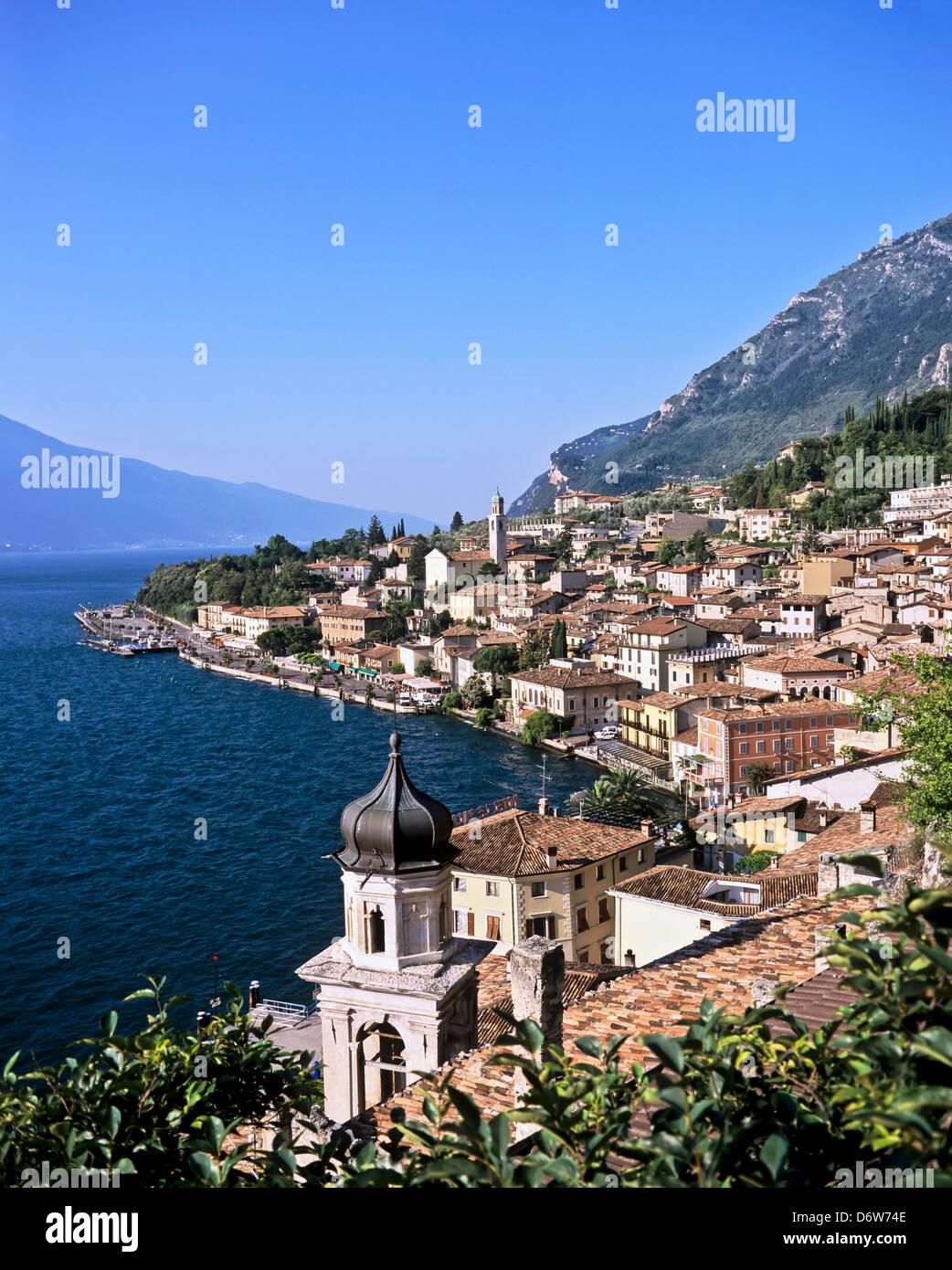 8441. Limone, Lake Garda, Trentino Alto Adirge, Italy, Europe - Stock Image