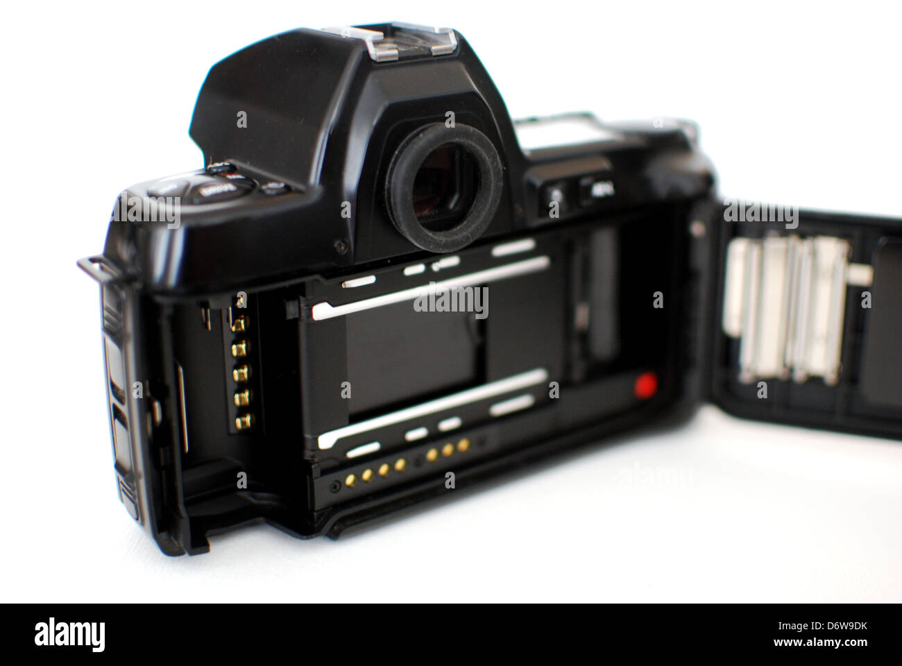 Retrospective Shot. Analog film is still the way to go for many professional photogs in their free time. - Stock Image