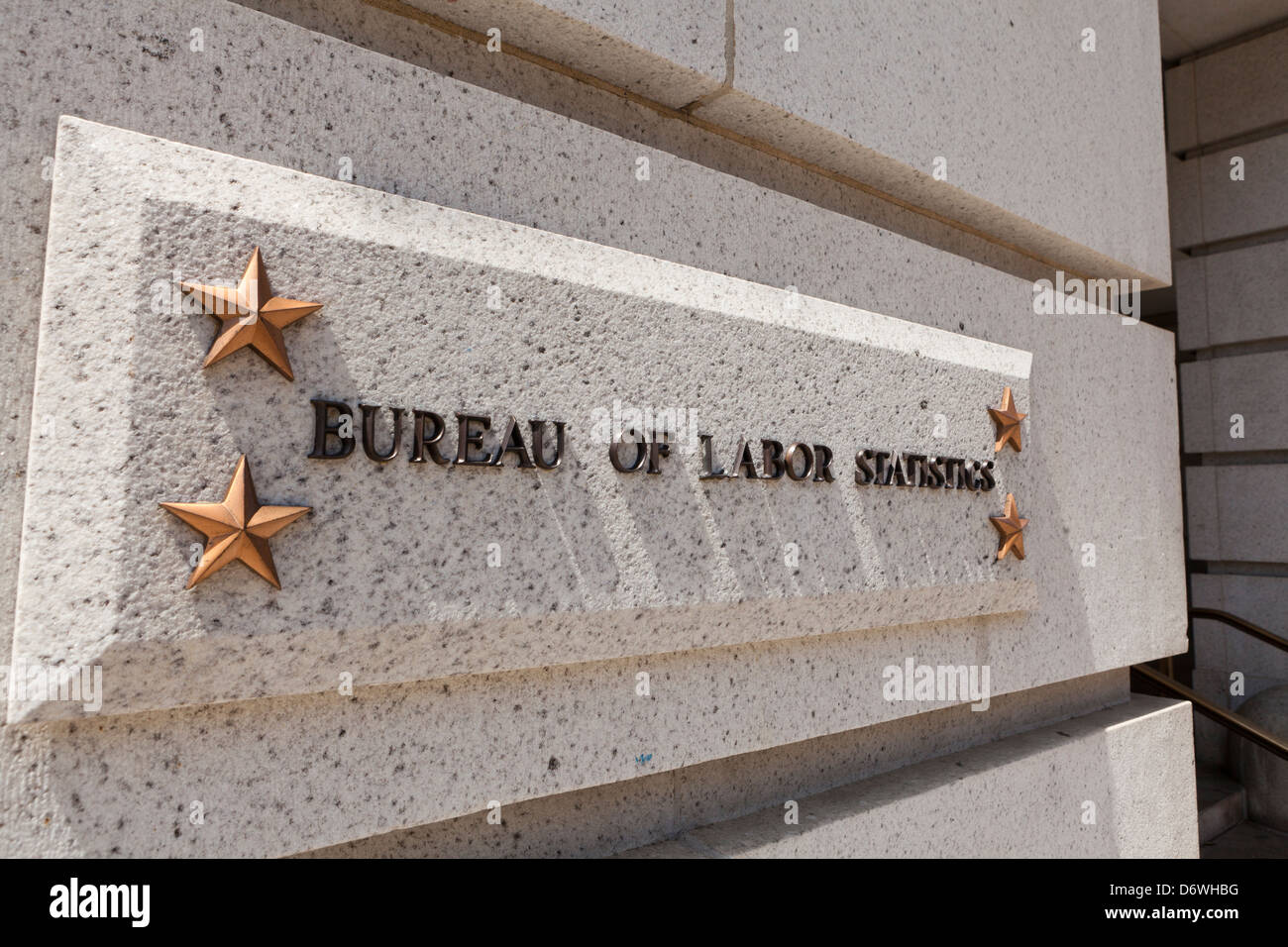 Bureau of labor statistics headquarters washington dc usa stock