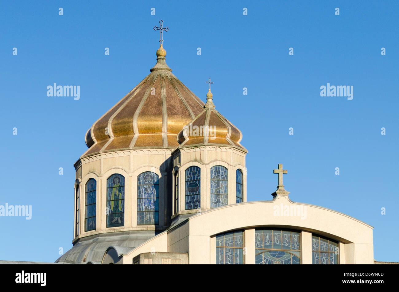 Ukranian Catholic Church, Vancouver, British Columbia, Canada - Stock Image