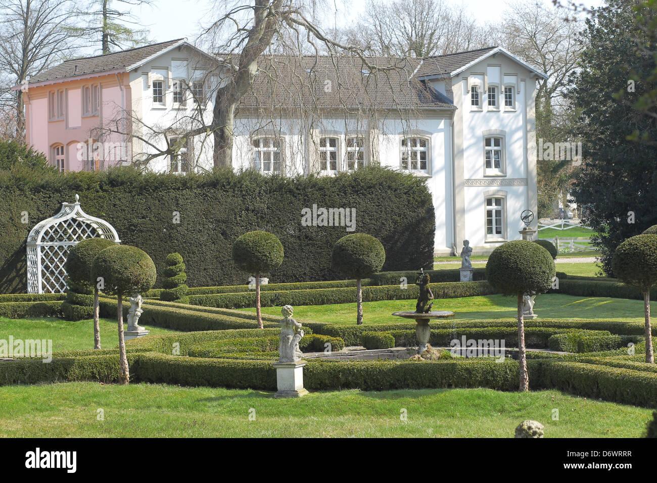 Panker, Germany, Kavaliershaus on Panker Stock Photo