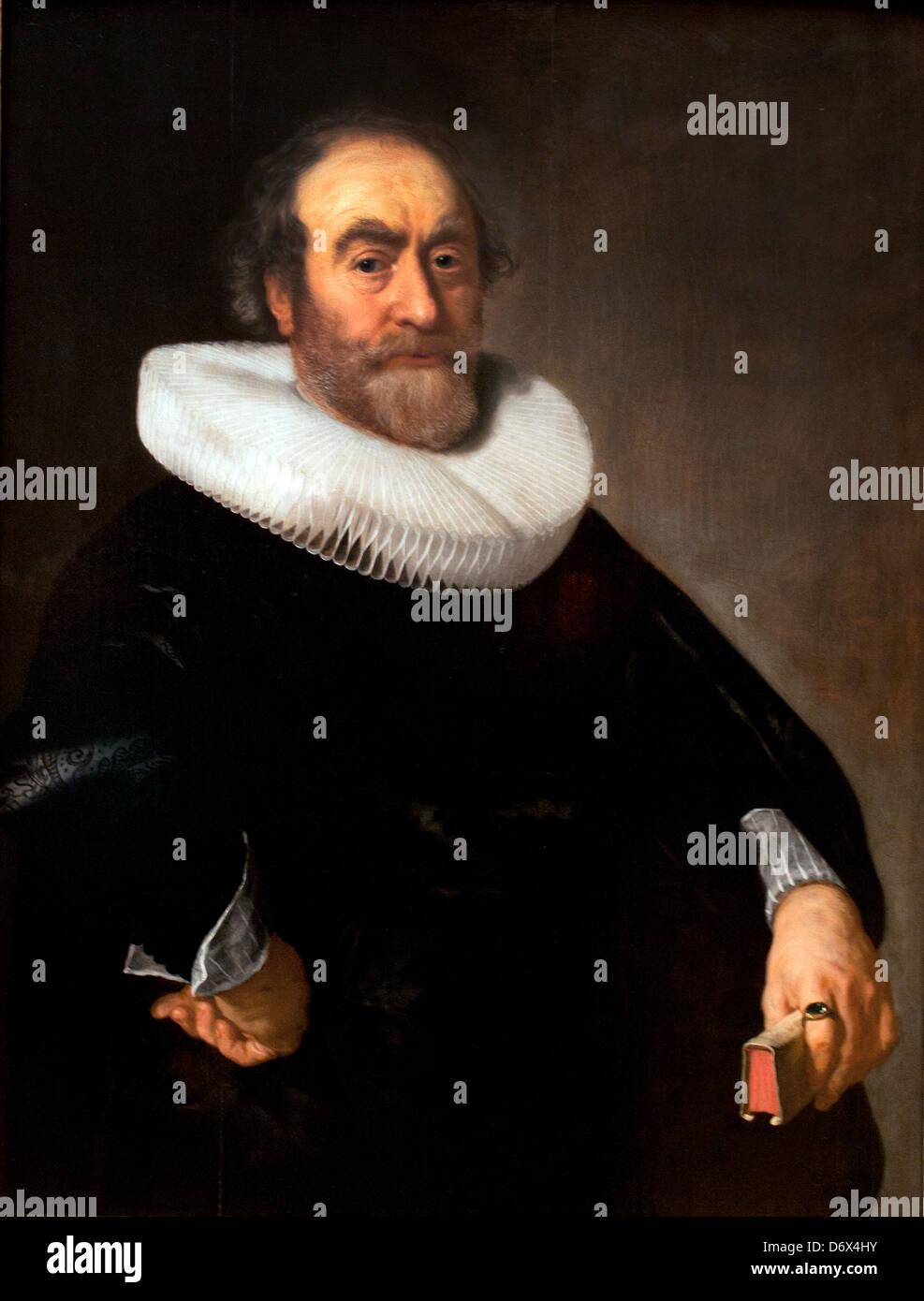 Andries Bicker 1642 Bartholomeus van der Helst 1613-1670 Dutch Netherlands - Stock Image