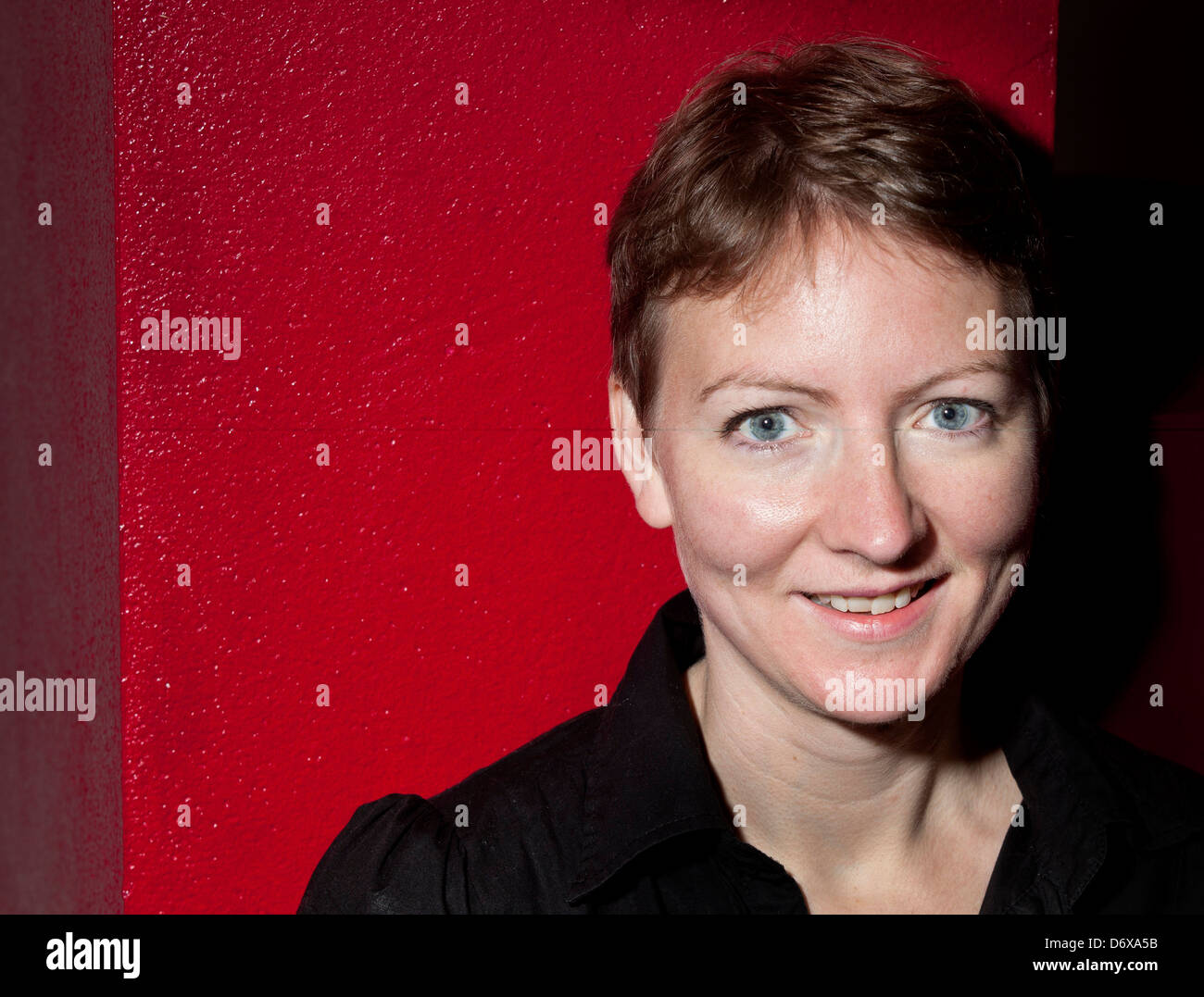 Award winning Playwright Zinnie Harris.  Associate Director of The Traverse Theatre from April 2015. - Stock Image