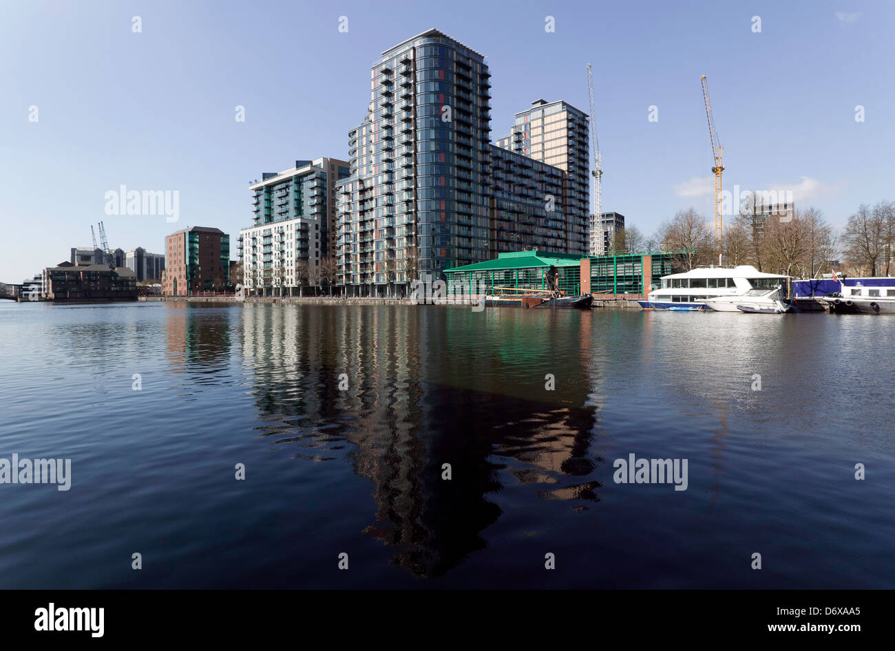 Ability Place, Millwall Inner Dock, Millwall, Isle of Dogs, London. - Stock Image