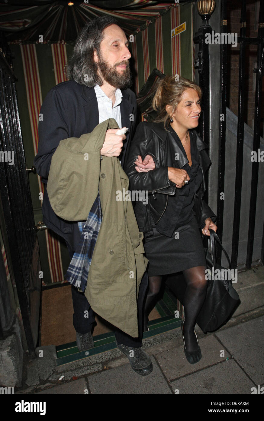 Tracy Emin Celebrities outside The Hawn Foundation Fundraising Gala held at Annabels London, England - 07.03.12 Stock Photo