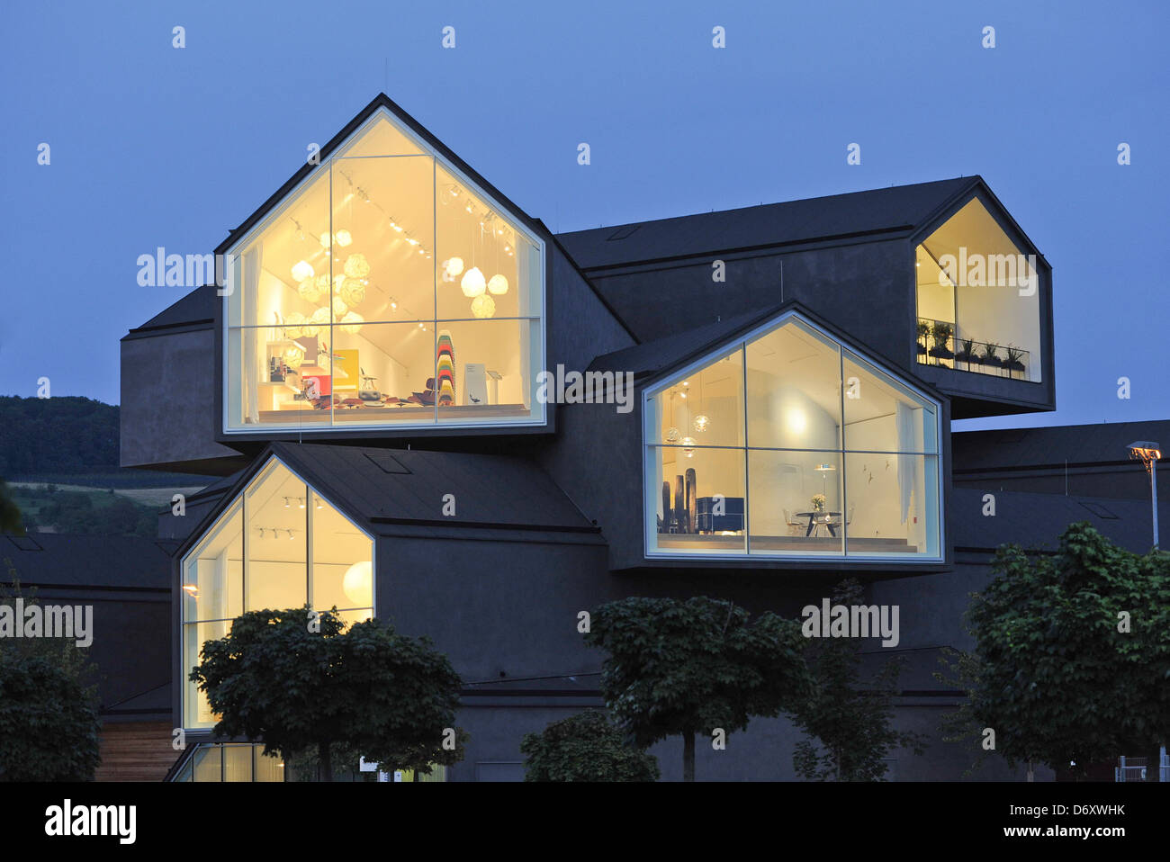 weil am rhein germany the vitra house built by herzog de meuron stock photo 55909887 alamy. Black Bedroom Furniture Sets. Home Design Ideas