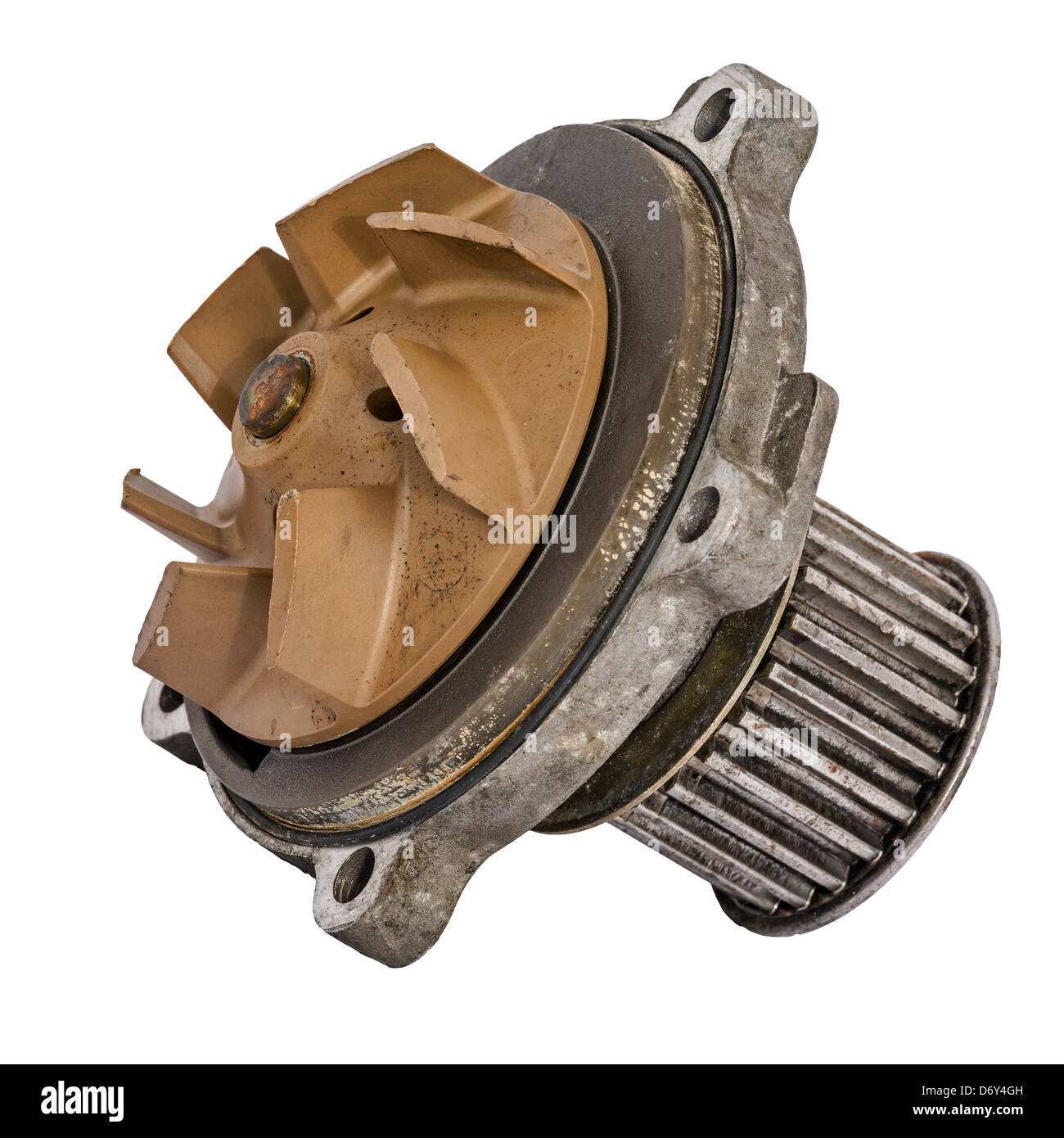 Worn out water pump - Stock Image