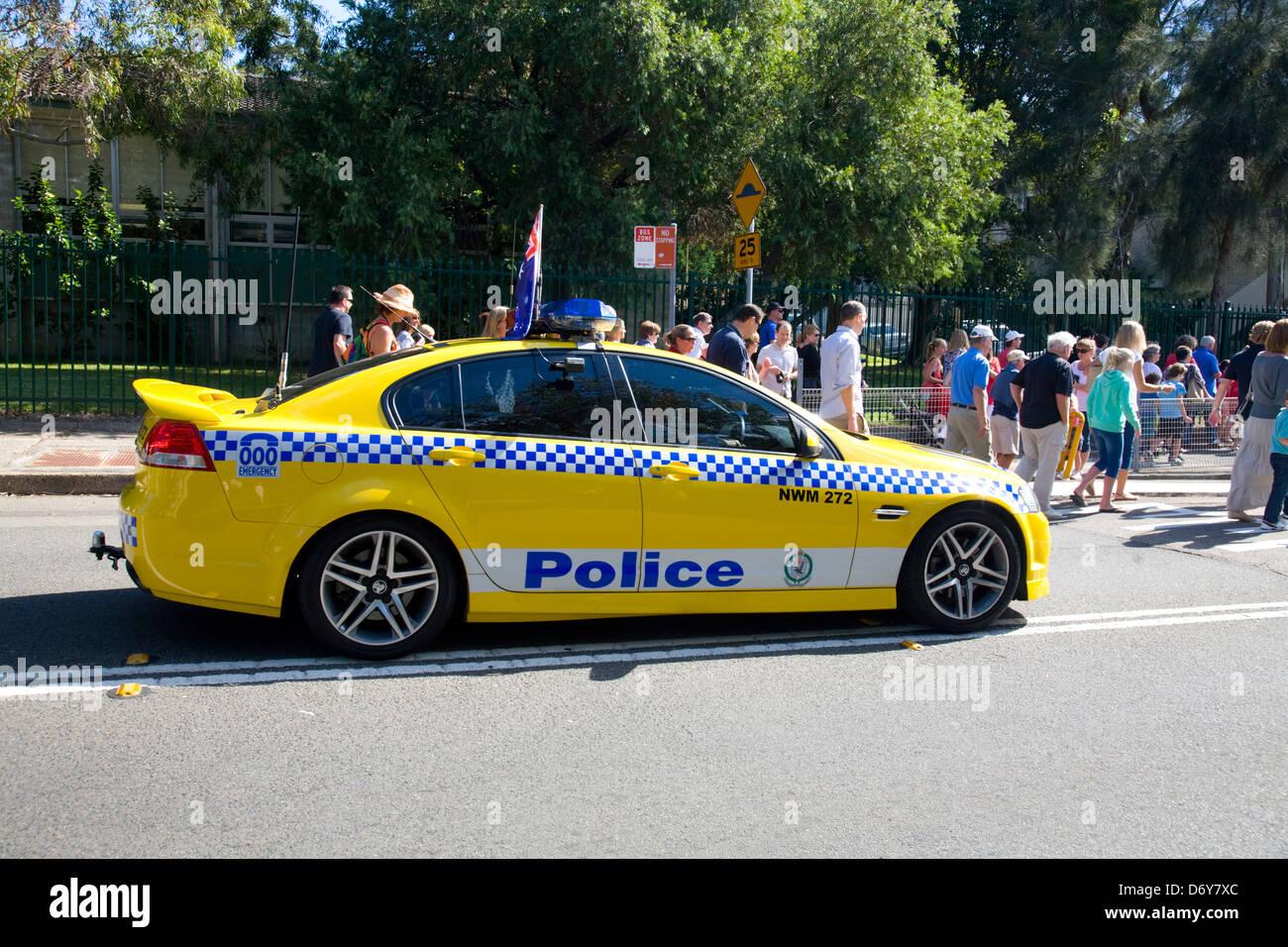Australian Police Car Stock Photos & Australian Police Car ...