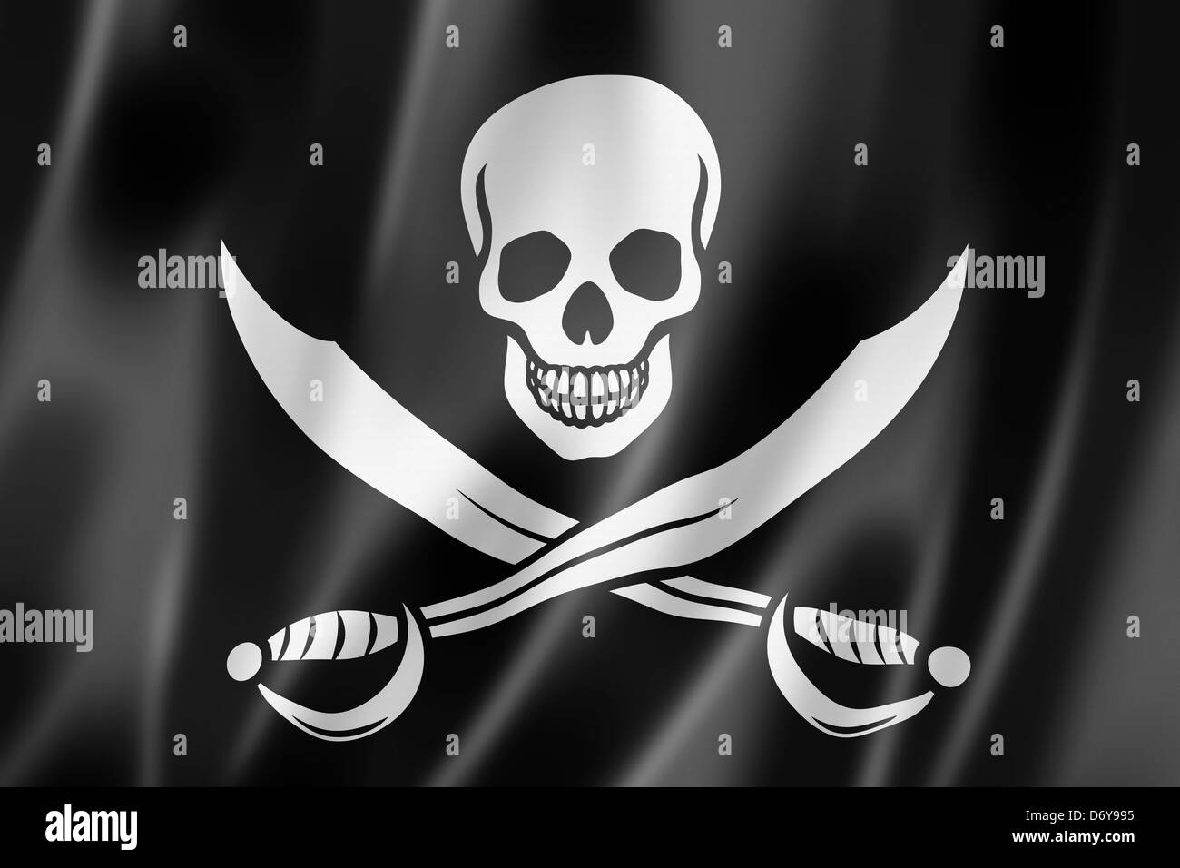 Pirate Flag Black And White Stock Photos Images Alamy