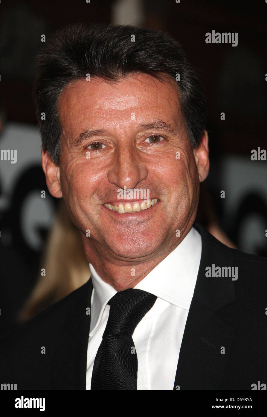 Lord Sebastian Coe GQ Men of the Year Awards 2011 - Arrivals London, England - 06.09.11 - Stock Image