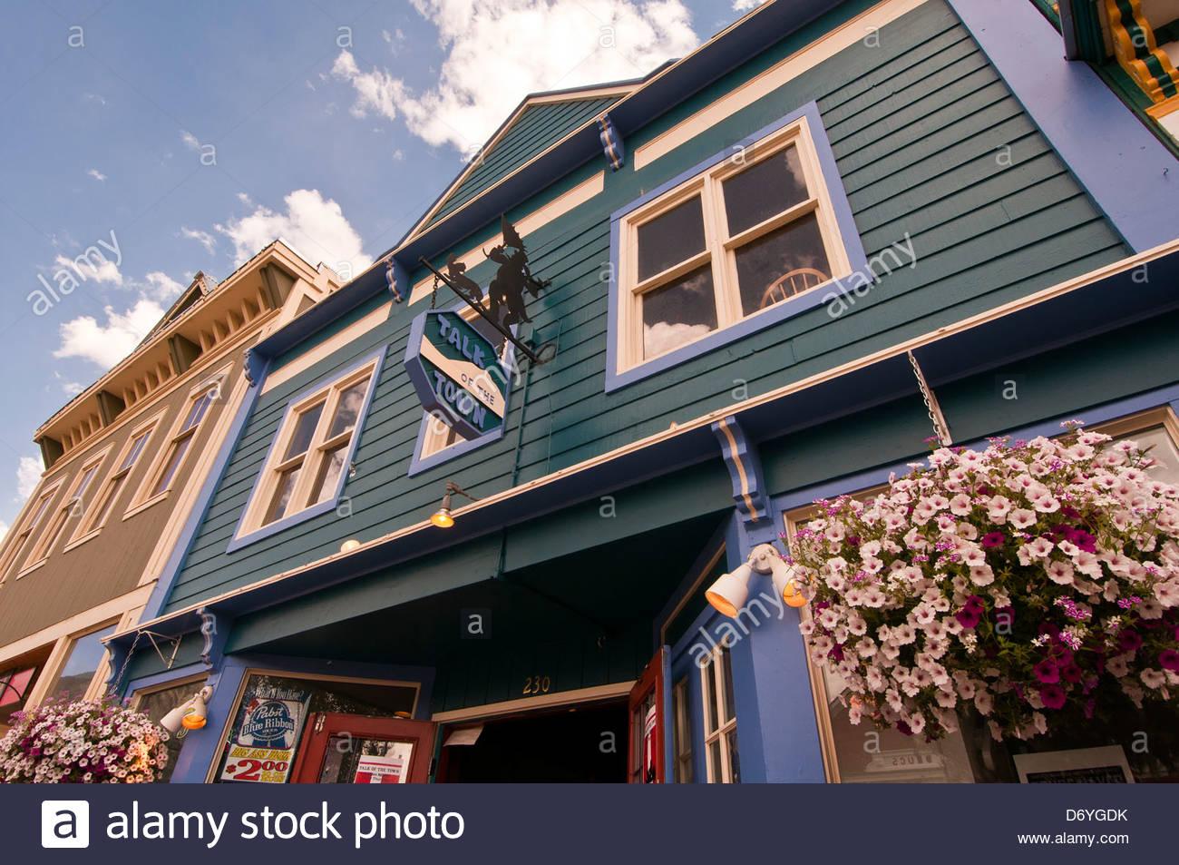 Crested Butte, Colorado USA - Stock Image