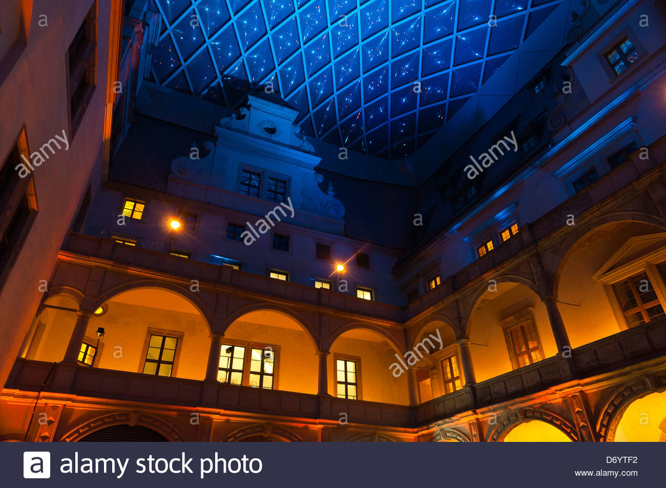 Royal Palace (Dresden State Art Collections), Dresden, Saxony, Germany - Stock Image