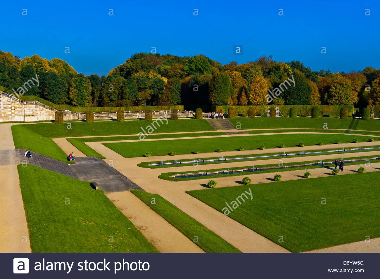 Grossedlitz Baroque Garden, Pillnitz, Saxony, Germany - Stock Image