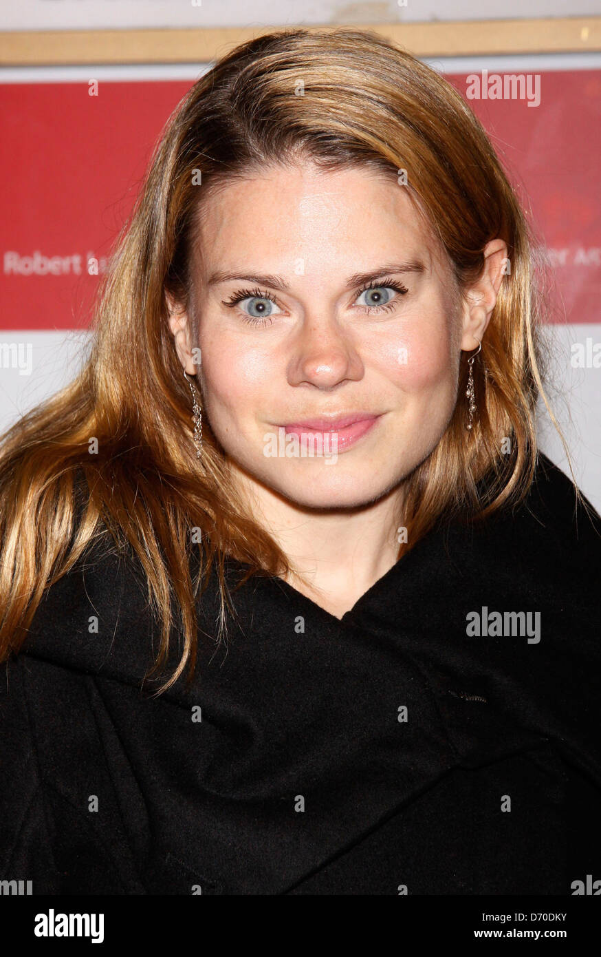 Celia Keenan-Bolger Opening night of the MCC production of the musical 'Carrie' at the Lucille Lortel Theatre - Stock Image
