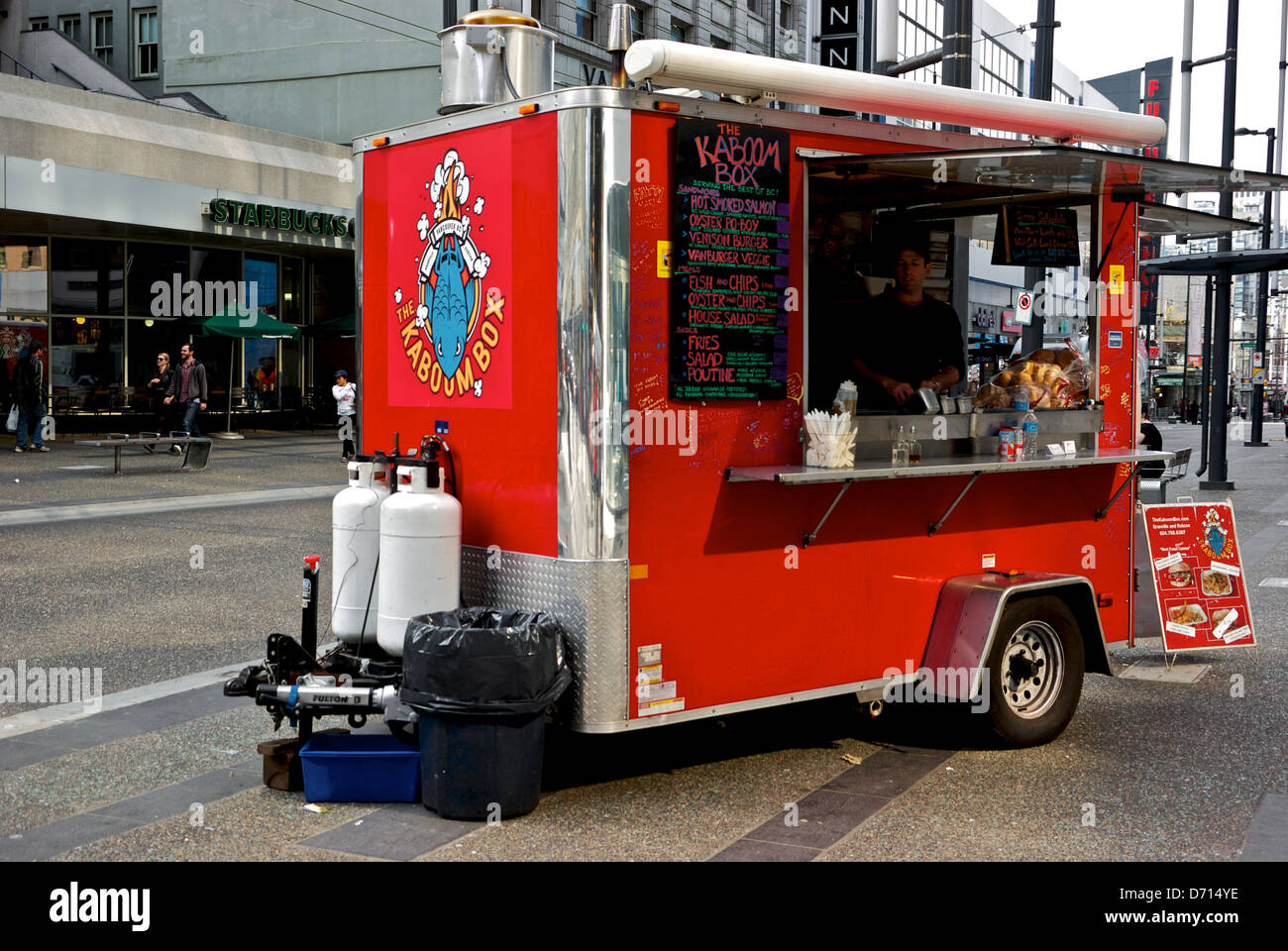 Food Trucks Downtown Vancouver